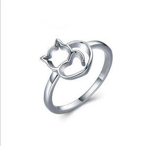 🆕 Alex Aurum Sterling Silver Cat Ring